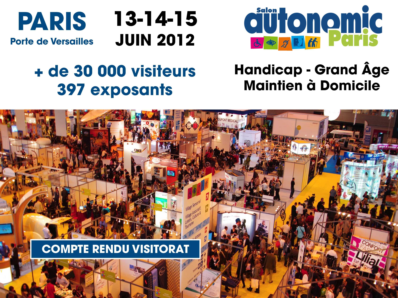 Compte rendu salon autonomic paris autonomic 8 for Salon autonomic paris