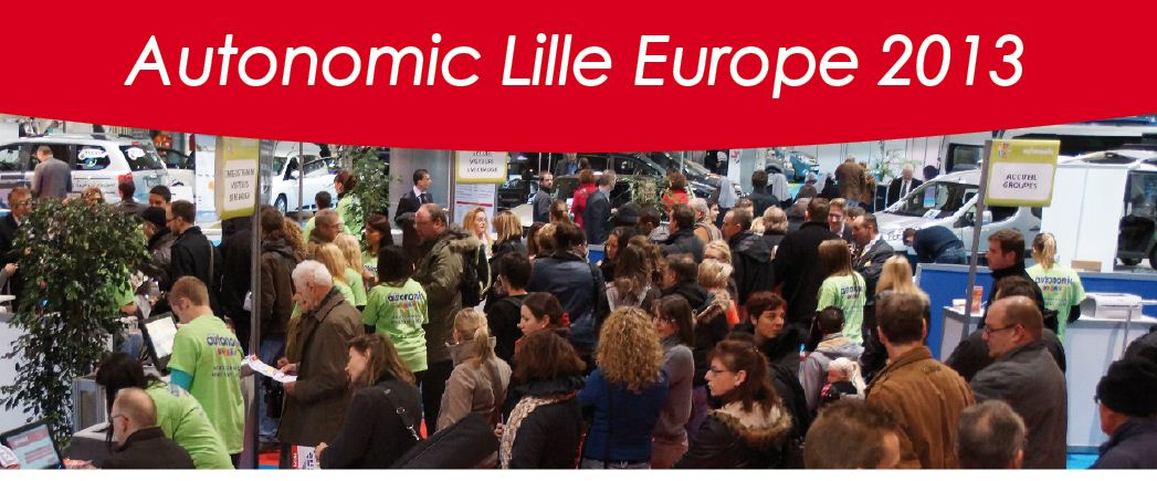 Pr sentation autonomic lille europe autonomic 7 for Salon autonomic paris