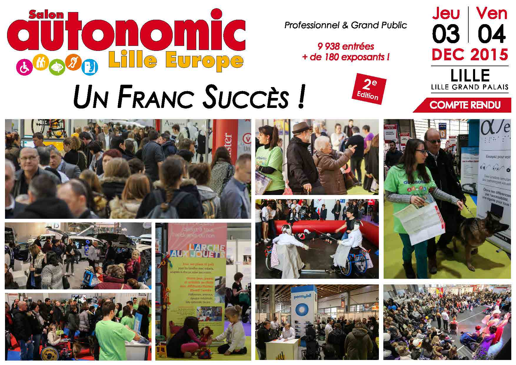 Compte rendu salon autonomic expo autonomic 8 salons for Salon autonomic lille