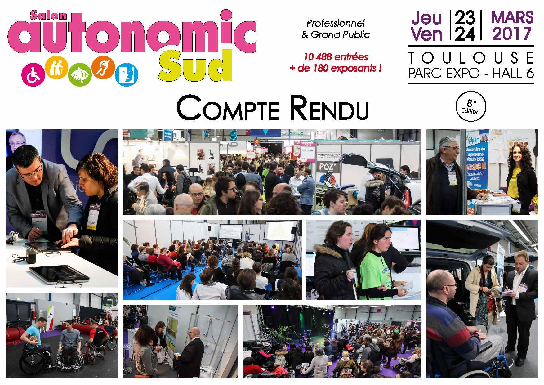 Compte rendu salon autonomic expo autonomic 8 salons for Salon autonomic 2017