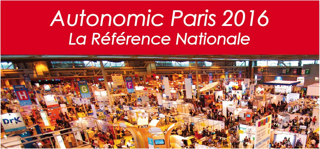 Salon autonomic paris 2016 for Salon autonomic paris