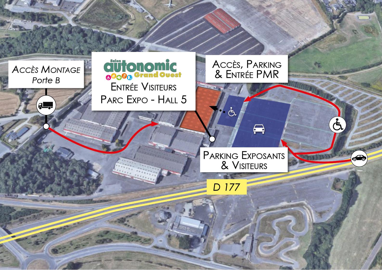 Visiter autonomic grand ouest autonomic 8 salons for Salon parc expo rennes
